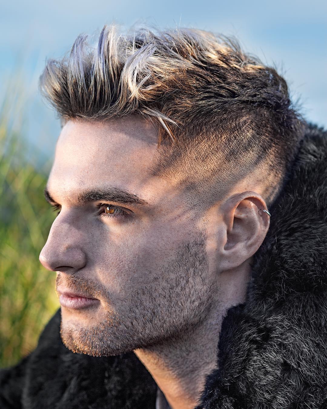 бобовая мужские модные стрижки на короткие волосы фото главном